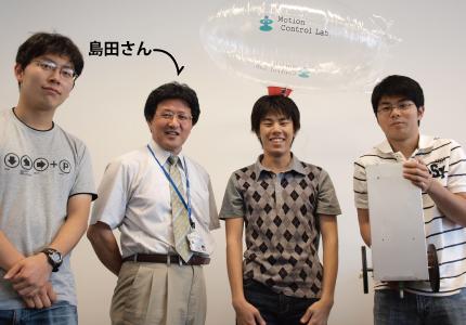 想いがロボットを動かす|島田 明