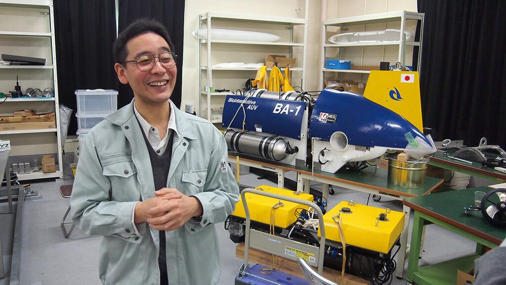 未来の沖合養殖を支える牧魚ロボット構想 近藤逸人