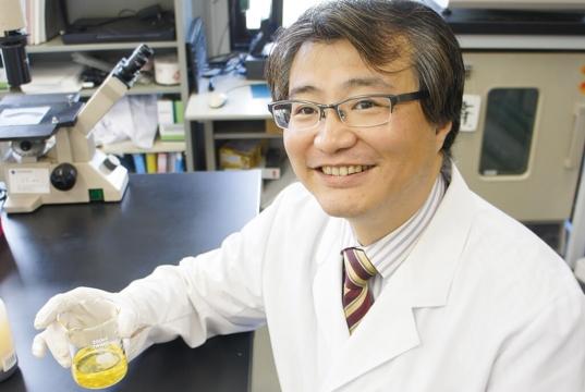 未来の燃料のために、 植物の毒を研究する 梶山 慎一郎